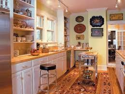 kitchen galley comfortable home design