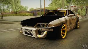 nissan skyline drift car nissan skyline r32 drift for gta san andreas