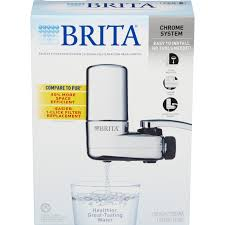 brita on tap chrome water faucet filtration system fits standard