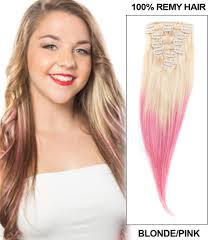 Indian Remy Human Hair Clip In Extensions by Wholesale Ombre Clip In Hair Extensions