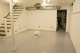 Basement Improvement Ideas by Decor U0026 Tips Finished Basement With Basement Floor Paint For Home