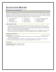 Sample Staff Accountant Resume by Sample Of Accounting Resume Accounting Resume Samples Staff