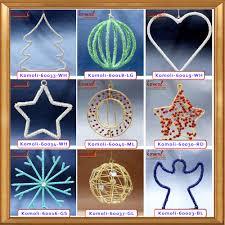 silver wire heart shape wholesale flat metal christmas ornaments