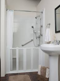 Walk In Shower Ideas For Small Bathrooms Bathroom Remodel Ideas With Walk In Tub And Shower Bathroom
