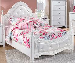 Ashley White Bedroom Furniture Exquisite Full Size Poster Bed By Ashley Furniture White Poster