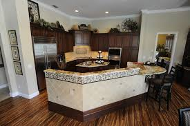 Kitchen Design Traditional by Flooring Exciting Traditional Kitchen Design With Dark Kitchen