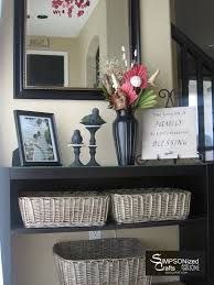 perfect baskets to toss mail magazines etc large basket for entry way decoration ideas