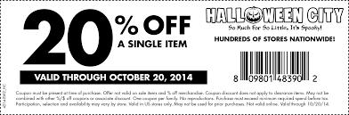 halloween city coupons