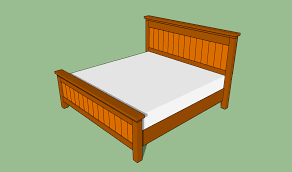 King Size Platform Bed Designs by King Size Bed Frame Plans Bed Plans Diy U0026 Blueprints