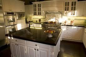 granite countertop kitchen cabinet door trim molding backsplash
