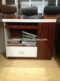 manager office table designs in wood office computer table design