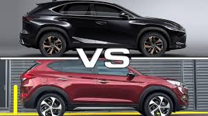 lexus nx turbo top gear 2018 lexus nx vs 2017 hyundai tucson youtube