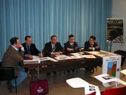 Da sinistra: Ettore Muscella, assessore del Comune di Torano Nuovo; Lorenzo Palazzoli, Le «Città del Vino d\u0026#39;Abruzzo», per il quinto anno consecutivo, ... - 030214_cittadelvino_conferenzastampa1