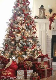 Christmas Home Decorations Pictures Best 25 Flocked Christmas Trees Ideas On Pinterest Artificial