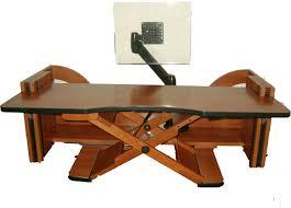 adjustable height desk models for the work office pinterest