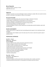 Resume Sample For Long Term Employment by Resume Proficient Resume For Your Job Application
