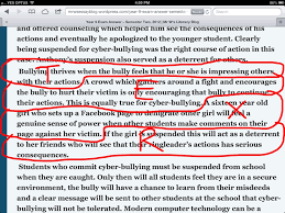 Essays on cyber bullying   our work Zoomerz kundun movie analysis essay