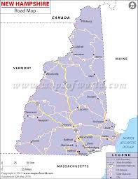 Nashua Zip Code Map by Hampshire Road Map