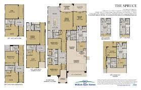 the spruce floor plans william ryan homes