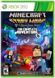 amazon com minecraft story mode the complete adventure xbox