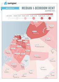 Map Of Boston Neighborhoods by Map Of Average Rent By Nyc Neighborhood Is As Depressing As You U0027d