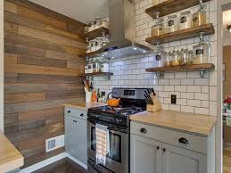 country kitchen with flush u0026 flat panel cabinets in portland or