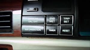 1994 deville driver information center rpm engine coolant