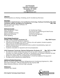 Resume Job Profile by Great Hvac Resume Samplehvac Resume Samples Templateshvac Resume