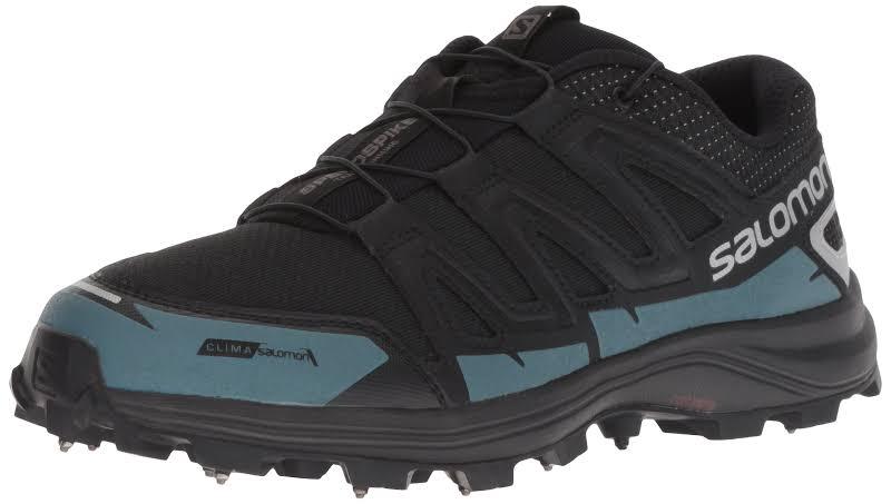 Salomon Speedspike Cs Trailrunning Shoe Black/Reflective Silver/Mallard Blue 9 L40470500-9