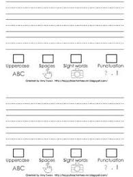 Like this checklist for students      writing paper