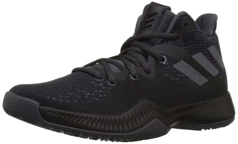 Adidas Mad Bounce J Black/Black/Grey Big Kids Basketball Shoes DB0853