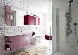 cool 30 brick bathroom decor design decoration of 30 trendy brick