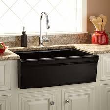 Damali Italian Fireclay Farmhouse Sink Black Kitchen - Italian kitchen sinks