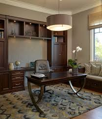 Home Office Wall Decor Ideas Wood Wall Decor Ideas Home Office Traditional With Window Bench