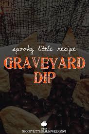 halloween dirt cake graveyard spooky little recipe graveyard dip spooky little halloween