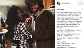 Serena Williams Engaged to Reddit Co Founder Alexis Ohanian Tennis great Serena Williams is engaged to Reddit co founder Alexis Ohanian   Instagram