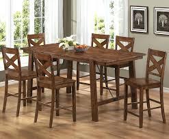 kitchen style kitchen tall dining room table stool height dinner