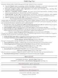 Senior Sales Executive Sample Resume   regional manager resume