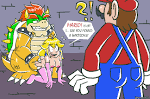 Image 677874: Bowser DonCorneo Mario Princess_Peach Super_Mario_Bros.