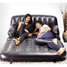 Intex Inflatable Pull Out Sofa by Intex Inflatable Pull Out Sofa Queen Bed Mattress Sleeper Black