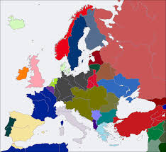 Europe After Ww1 Map by Image Cv Europe Map 1919 Png Alternative History Fandom