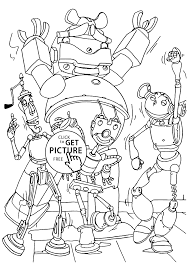 characters coloring pages for kids printable free