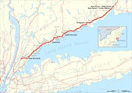 Greyhound Routes Map by New Haven Line Wikipedia