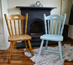 Serenity Blue Paint Diy Upcycled Chairs Shabby Chic Inspired Fawns U0026 Fables