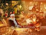 Wallpapers Backgrounds - Santa Claus Wallpaper (Santa wallpapers christmas gifs Claus worldofchristmas net 1024x768)