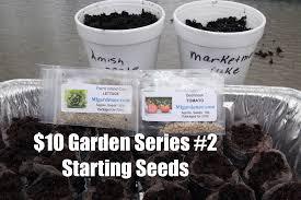 the 10 garden series 2 how to start seeds indoors youtube
