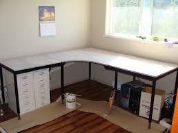 Desk With File Cabinet Ikea by Diy Corner Desk With File Cabinets Diy Corner Desk Ikea