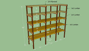 Loft Shelving by How To Build Storage Shelves Howtospecialist How To Build