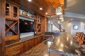 wet bar u2014 tharp cabinet company