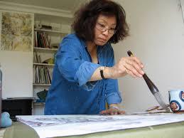 Hélène HO est diplômée de l\u0026#39;Ecole des Beaux-Arts de Taipei et riche de plus de 20 ans d\u0026#39;enseignement, notamment à Passeport pour la Chine. - hélène1